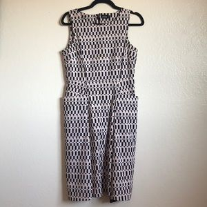 Kate Spade Saturday graphic dress with pockets